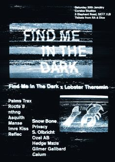 Find me in the dark