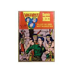Eldre Vill Vest blad 1980 - bli med Kaptein Miki og de andre på eventyr!