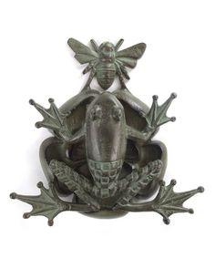 Bee/Frog door knocker