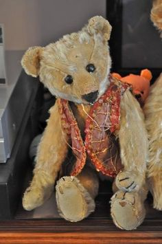 The Jena Pang Collection – Grandma's Teddies Old Teddy Bears, Antique Teddy Bears, Steiff Teddy Bear, Teddy Bear Toys, Antique Toys, Vintage Toys, Love Bears All Things, Bear Doll, Making Ideas