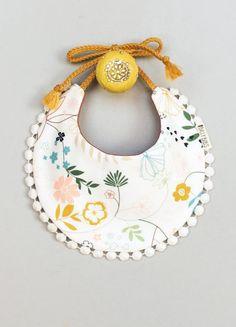 Handmade Boho Baby Bib | BillyBibs on Etsy