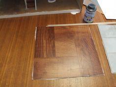 Dollhouse flooring