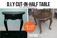 hagamos de una mesa 2 consolas   Decorar tu casa es facilisimo.com