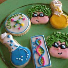 11 Best Dna Cookies Images On Pinterest Decorated Cookies Cookie