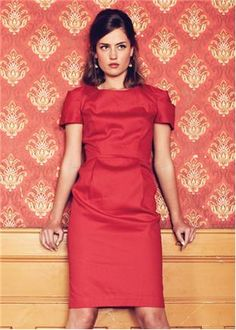 People Tree | Delphine Red Dress