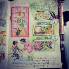 monchiichen 陳年罔市 半夜畫食物, 不知不覺也餓了 | Use Instagram online! Websta is the Best Instagram Web Viewer!