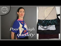 How to recognize poor vs. good quality in clothes (in 5 points) | Justine Leconte - YouTube