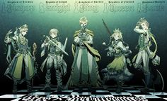Hetalia Chessverse/Chesstalia- Nordics:  Kingdom of Norway (Bishop), Kingdom of Iceland (Knight), Kingdom of Sweden (King), Kingdom of Finland (Queen), Kingdom of Norway (Rook).   (source: Chess Hetalia Thread - Cosplay.com)