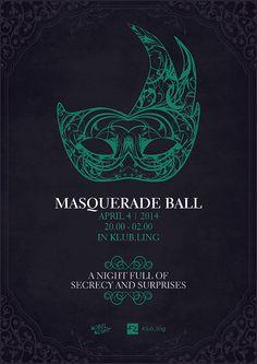 Masquerade Ball on Behance