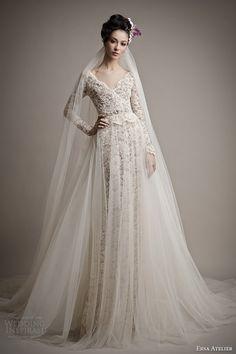 Ersa Atelier Spring 2015 Wedding Dresses | Wedding Inspirasi