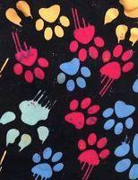 LuLaRoe TC Tall & Curvy Paw Prints Animal Lover Dogs Cats Paws HTF MAJOR UNICORN