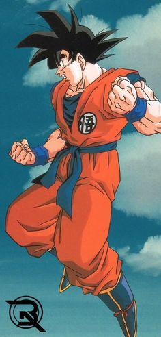 Goku By: Thejokermonge Dragon Ball Image, Dragon Ball Gt, Dragon Bowl, Goku Wallpaper, Wallpaper Backgrounds, Japon Illustration, Anime Scenery, Animes Wallpapers, Anime Art