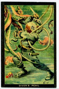 Tradecard - Divers Peril
