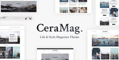 CeraMag - Life & Style Magazine Theme - Blog / Magazine WordPress Download here: https://themeforest.net/item/ceramag-life-style-magazine-theme/19877460?https://themeforest.net/item/john-jerry-a-wordpress-wedding-theme/19852079?ref=classicdesignp
