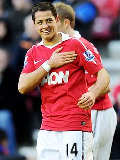 Chicharito(: MY MOST FAVORITE MANCHESTER UNITED PLAYER EVER!