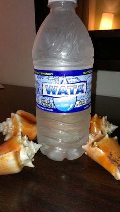 """Thirsty? Drink some """"wata"""". #Jamaica #Travel."""