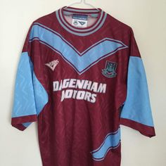 Is this the best 90s West Ham United football shirt?