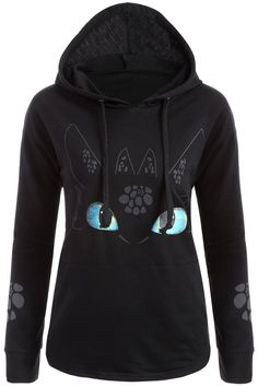 $14.70 How to Train Your Dragon Night Fury Toothless Hoodie<<<<< I've got one of these and I really recommend it! SO COMFY!