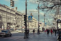 Nevsky Prospect. Saint Petersburg / Невский проспект. Санкт-Петербург. Perspectiva Nevsky, St. Petesburg. Rússia.