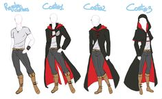 Male Coat by IrinaFestner94.deviantart.com on @deviantART