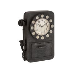 Old English Country Phone Clock | dotandbo.com