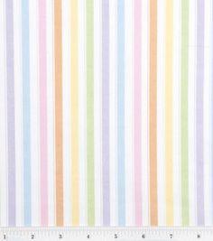 Nursery Baby Basic- Stripe Multi: nursery fabric: fabric: Shop | Joann.com