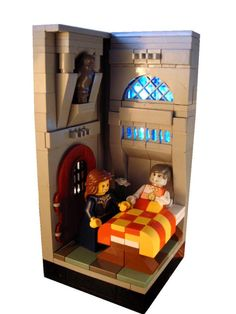 lego castle room