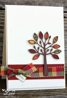 Card by Lynn Hayes (092313)  [Simon Says Stamp!  All Seasons Tree]