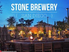 Friday Drinks – Stone Brewery, San Diego, California