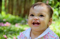 o sorriso dela me lembra o quanto o Senhor Deus nos ama ....