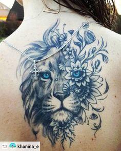 Tatuagens de Leões Femininos - Mais de 120 Modelos - Tatuagens Ideias
