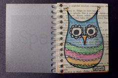 Little owl notebook :)