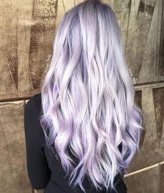 Lavender hair goals.