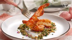 This delightfully crunchy fried shrimp is a must-try recipe if you love seafood. It's a combination of tender ... Deep Fried Shrimp, Seafood Recipes, Cooking Recipes, Pepper Spice, Fish Dinner, Stuffed Green Peppers, Fish And Seafood, Side Dishes, Spicy