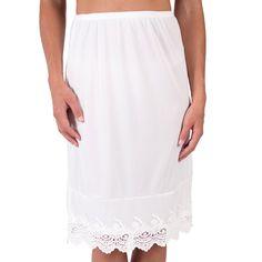 e28df8d72a 9 Best Dress/Skirt Extender images | Dress skirt, Formal skirt, Slip ...