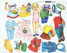 German paper dolls (UHU no 26)
