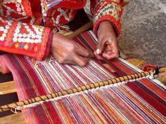 La textileria ancestral de Mexico y Peru
