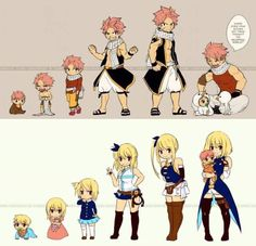 Aaww. NALU evolution. They are so cute at the last picture. Didn't they?
