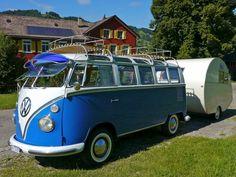 "VW T1 with ""Dübener Ei"""