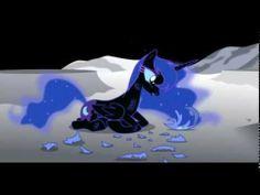 Luna's Let it go (Frozen My little pony parody). I love this version so much!
