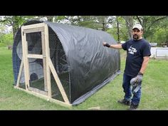 We are finishing our new Hoop Coop for our young flock of layer chickens. Then, we move the chickens into their new home. Chicken Shack, Chicken Pen, Chicken Coops, Cattle Panels, Homestead Farm, Guest Cabin, Solar Generator, Corporate America, Urban Homesteading