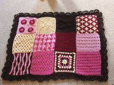 Ravelry: Sampler Afghan pattern by Marianne Forrestal. Free download.