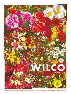 Wilco gig poster