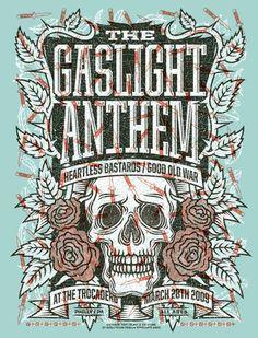 GigPosters.com - Gaslight Anthem, The - Heartless Bastards, The - Good Old War