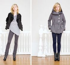 Love these coats.