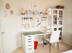 New sewing room - the big reveal ~ by Down Grapevine Lane