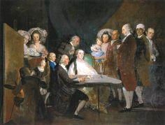 La familia del infante don Luis - Francisco de Goya - Wikipedia, la enciclopedia libre