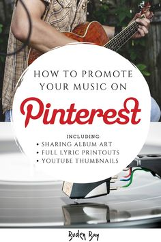 Pin Art - How To Promote Your Music On Pinterest - 10 Easy Methods