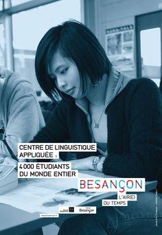 Besançon, 4 000 étudiants du monde entier Public, Creations, Language, Rural Area, Languages, Language Arts