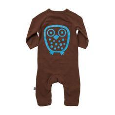 ej sikke lej Basic Big Owl Cottonsuit